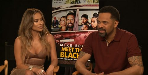 Mike Epps Zulay Henao Afterbuzz TV