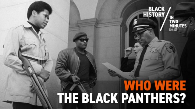 Black Panthers | Black History in Two Minutes