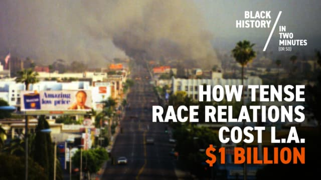 LA Race Riots | Black History in Two Minutes